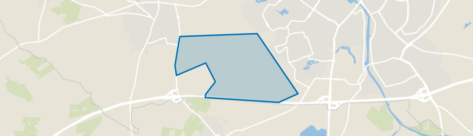 Wehl-Zuidoost, Wehl map
