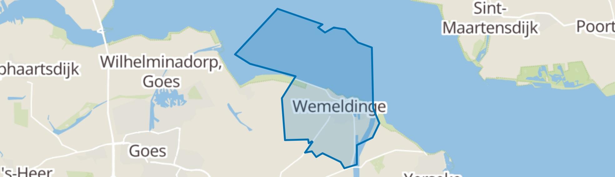 Wemeldinge map
