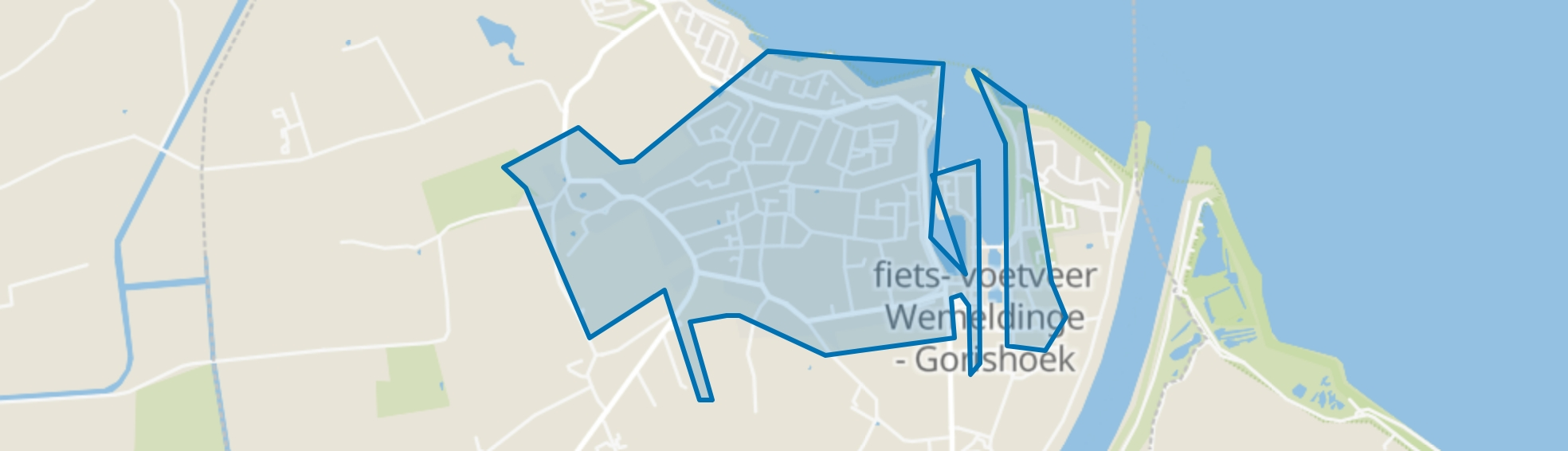 Wemeldinge, Wemeldinge map