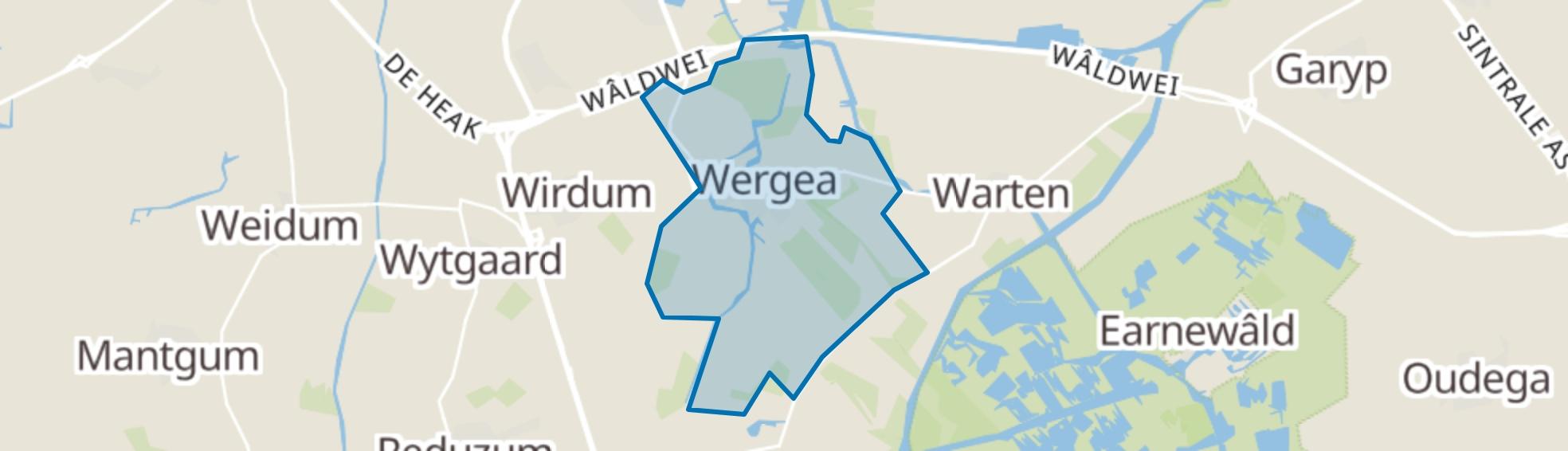 Wergea map