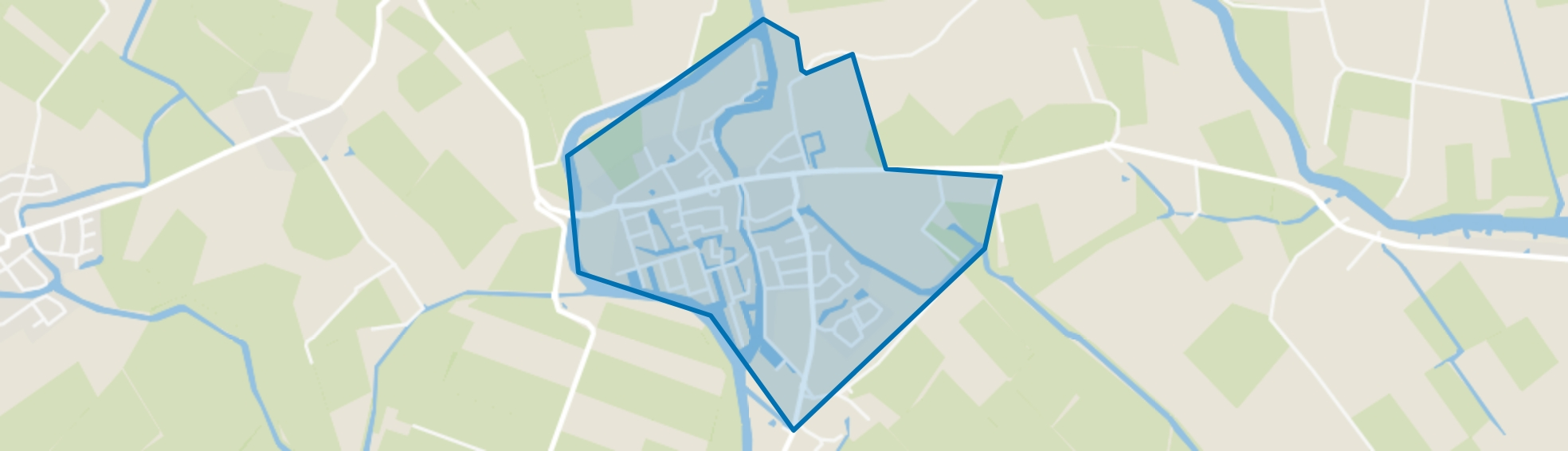 Wergea, Wergea map