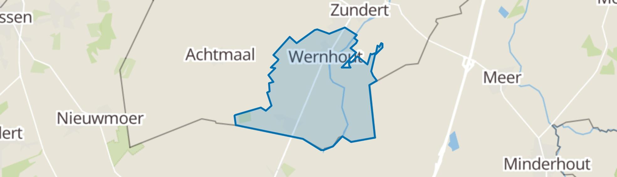 Wernhout map