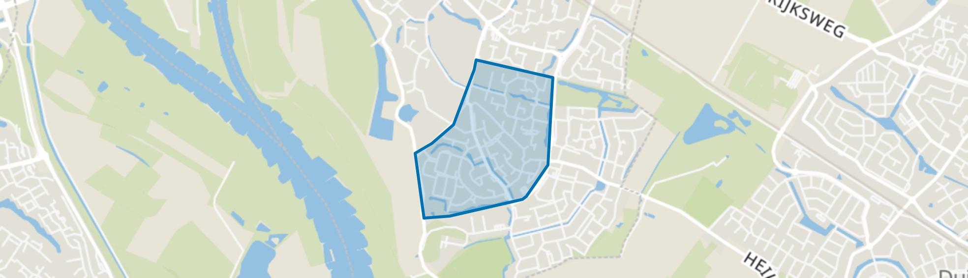 Westervoort-Lange Maat en Hoogeind, Westervoort map