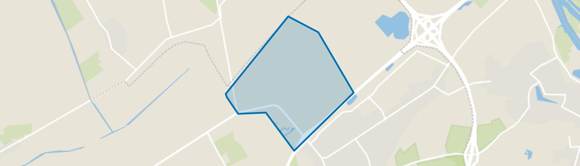 Verspreide huizen Duivendans, Wezep map