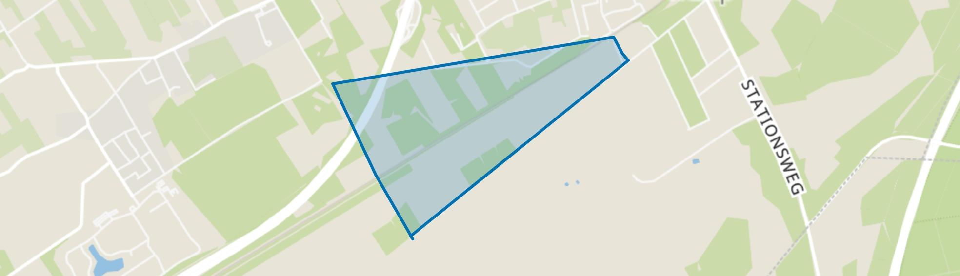 Verspreide huizen Heide Hoek, Wezep map