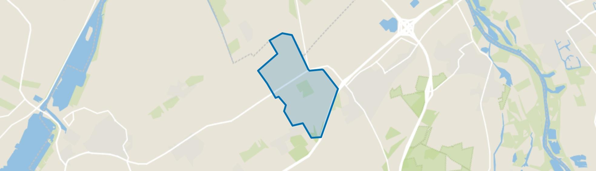 Verspreide huizen Wezep, Wezep map