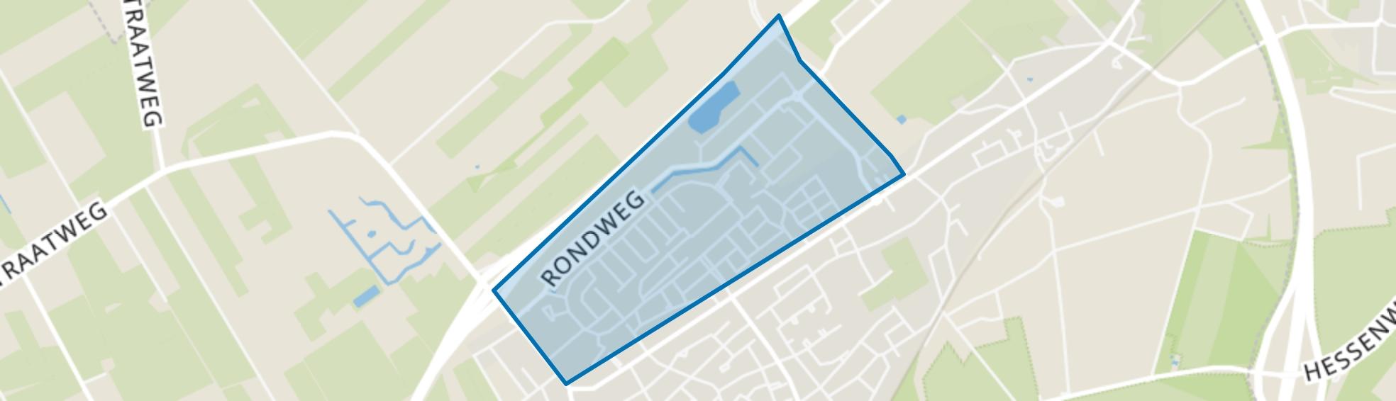 Wezep-Noord, Wezep map