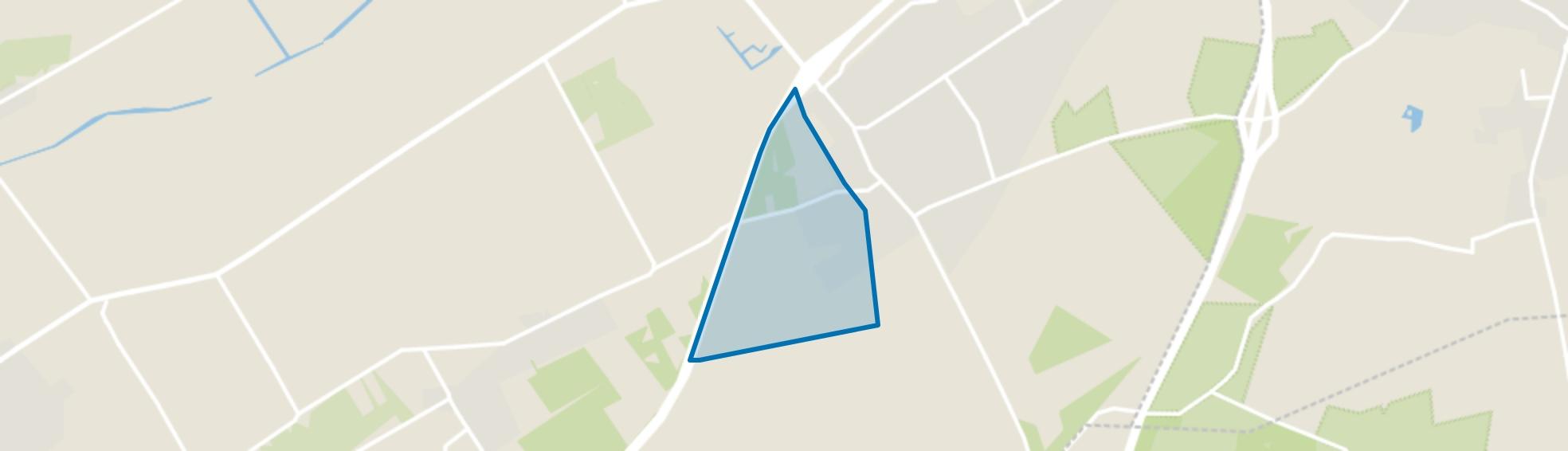 Wezep-West, Wezep map