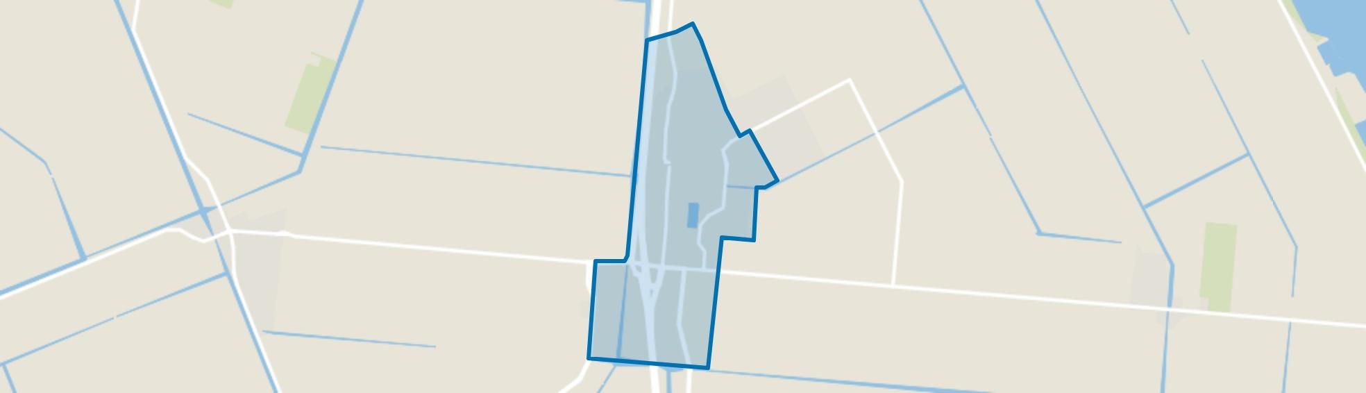 Wieringerwerf, Wieringerwerf map