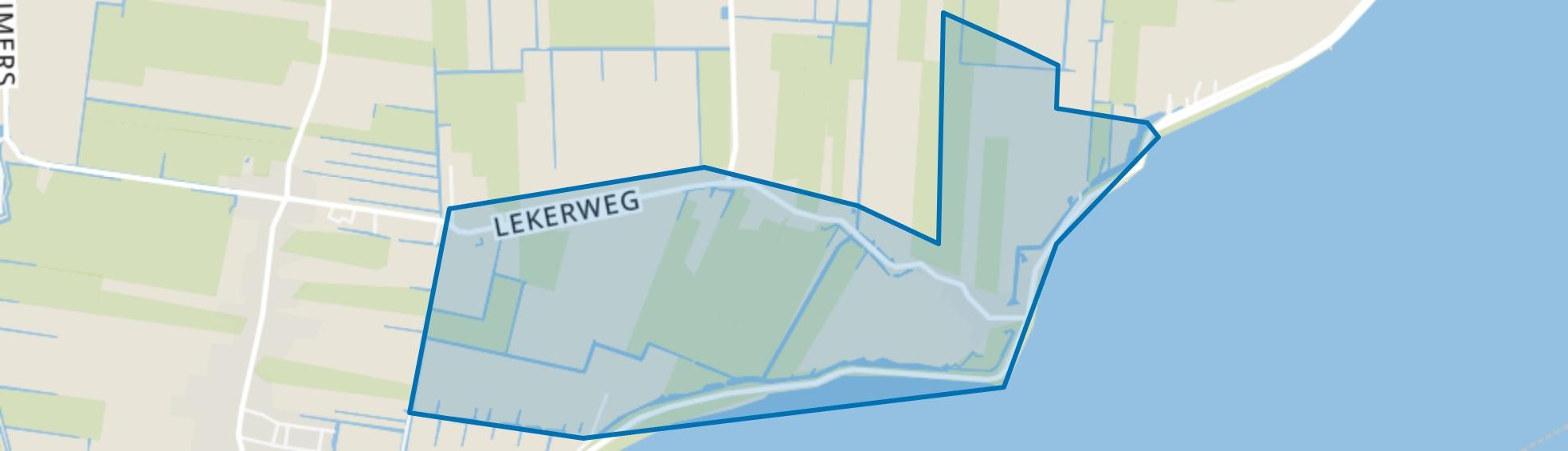 Oosterleek, Wijdenes map