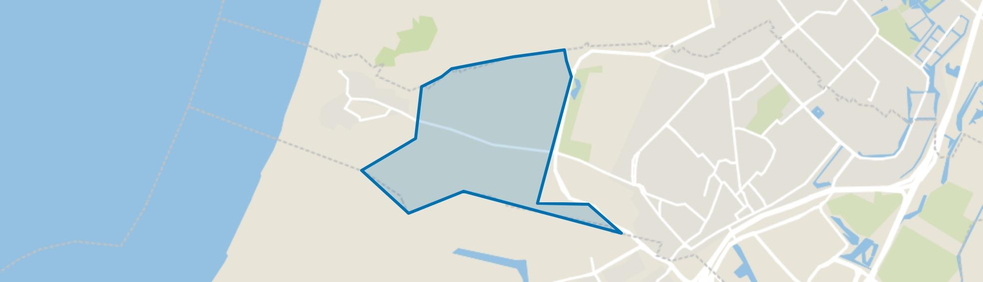 Industriegebied Hoogovens, Wijk aan Zee map