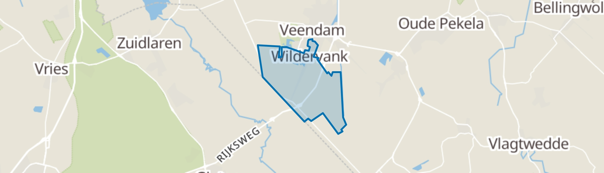 Wildervank map
