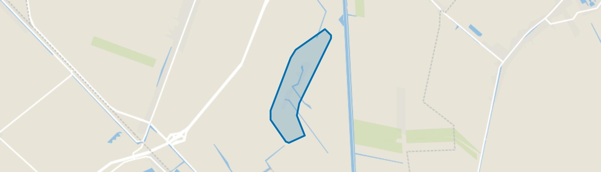 Wildervanksterdallen, Wildervank map
