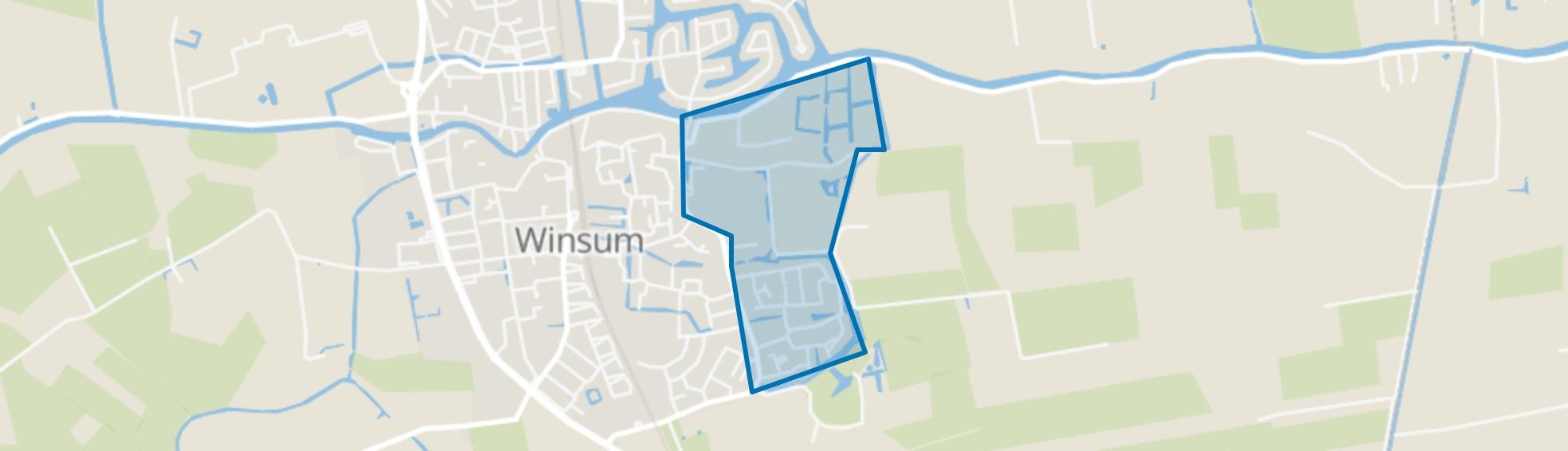Potmaar, Winsum (GR) map