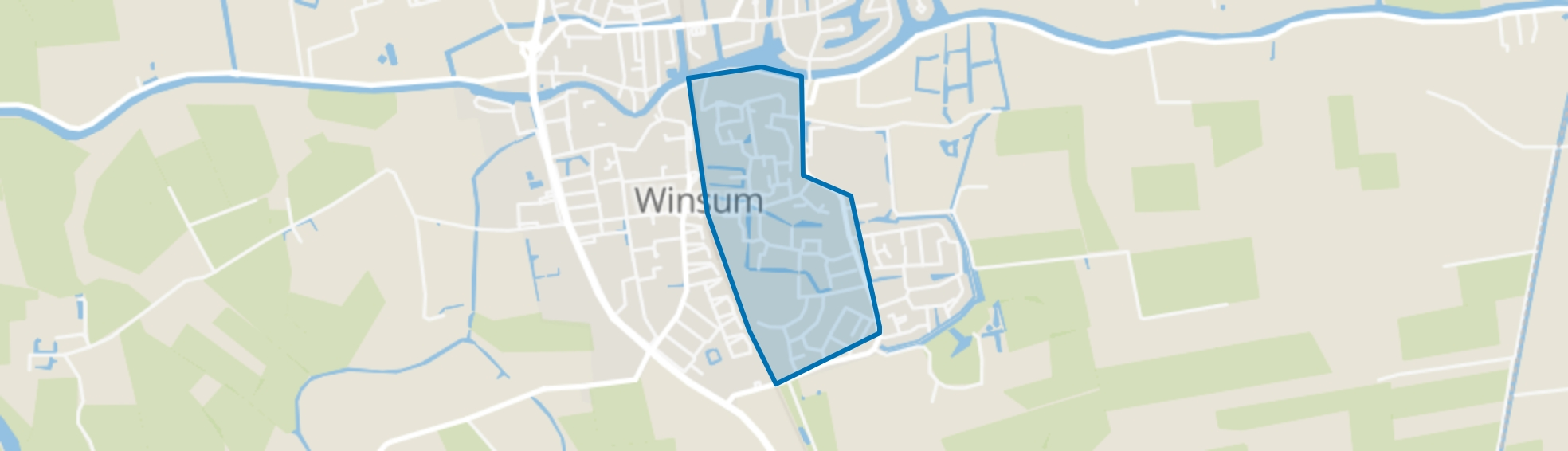 Ripperda, Winsum (GR) map