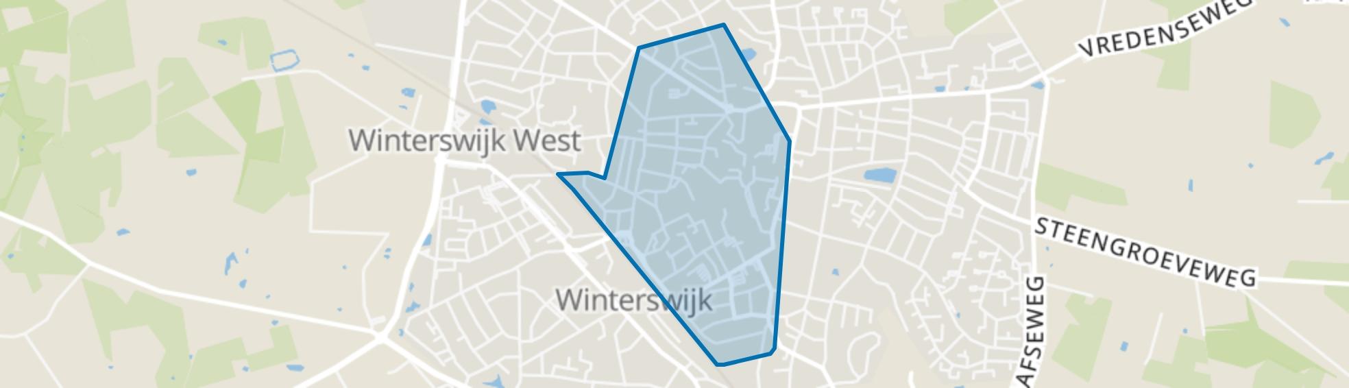Centrale deel, Winterswijk map