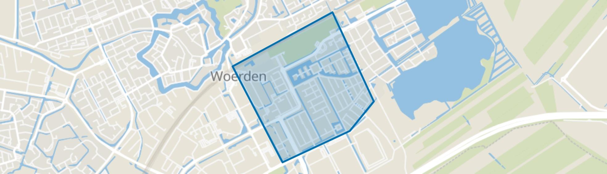 Snel en Polanen, Woerden map