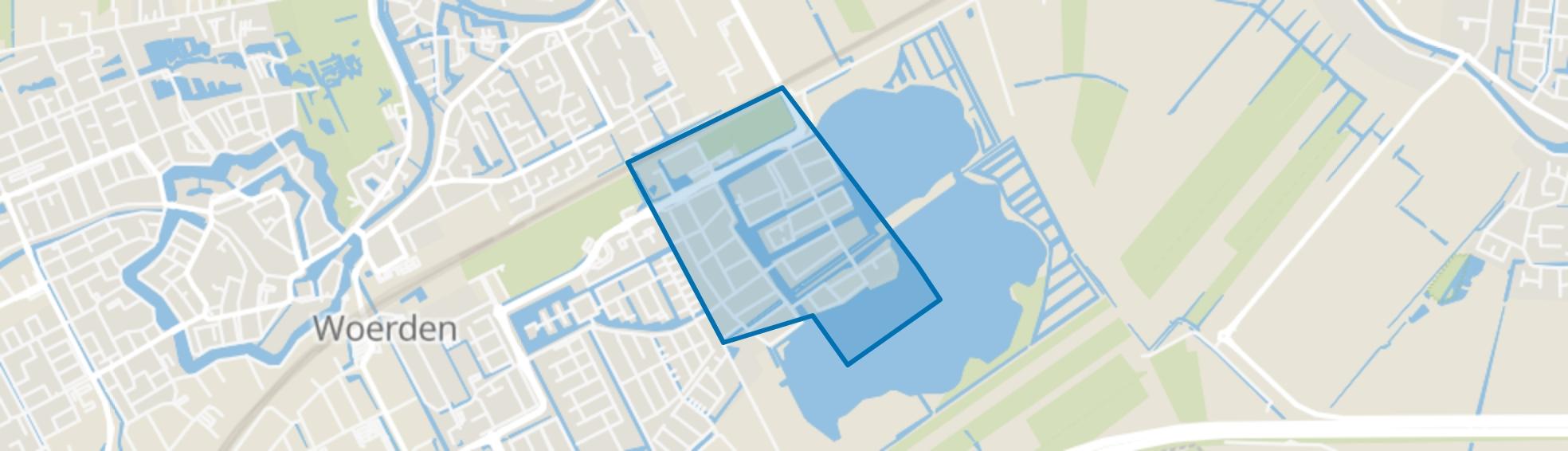 Waterrijk, Woerden map
