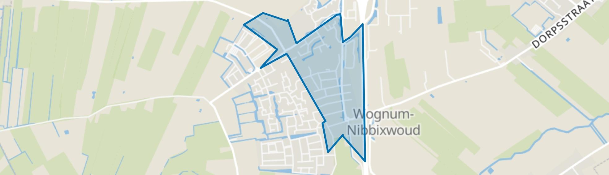 Wognum Centrum, Wognum map
