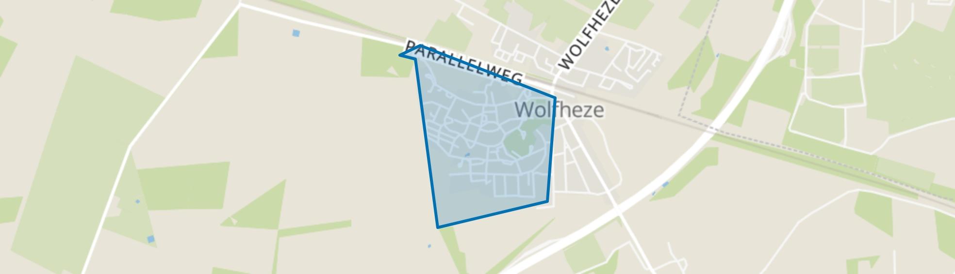 De Stichting, Wolfheze map