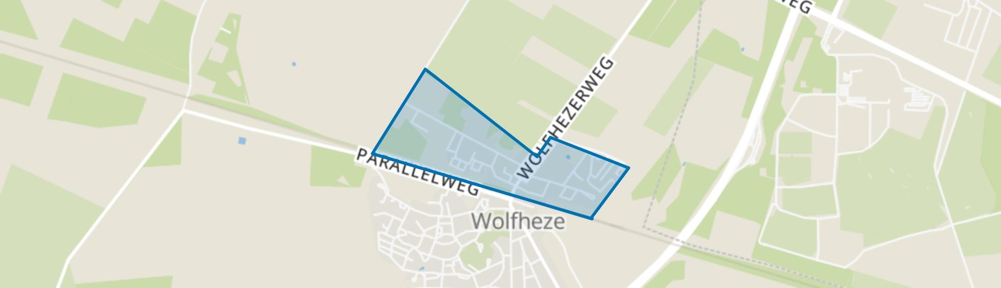 Duitsekampweg, Wolfheze map