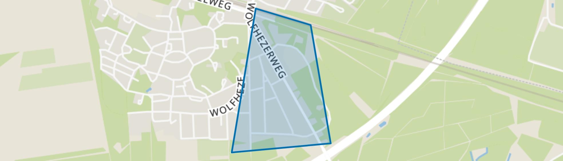 Lawijckerhof, Wolfheze map