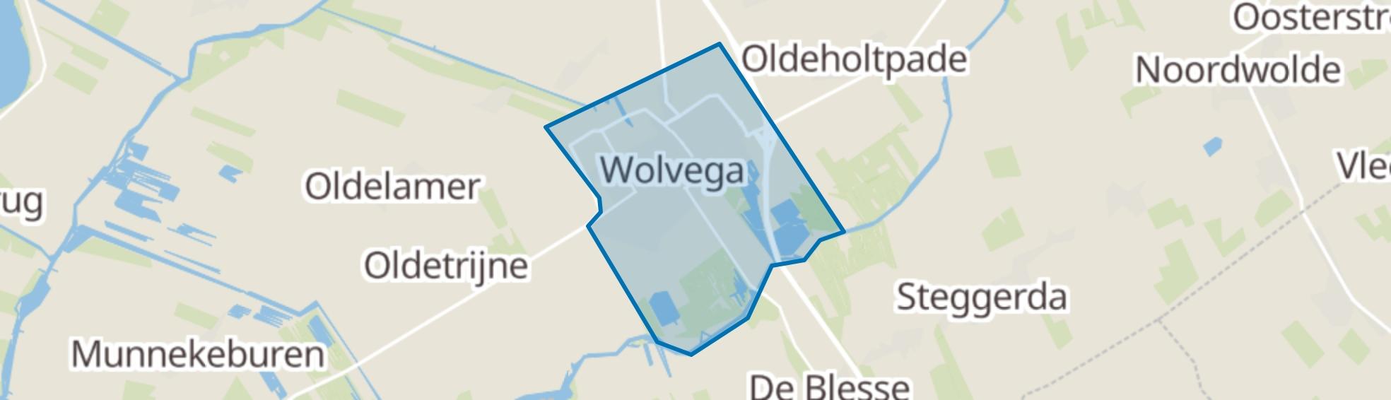 Wolvega map