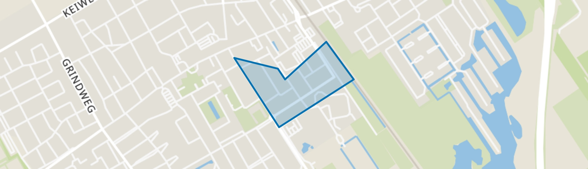 Wolvega-Bloemenbuurt, Wolvega map