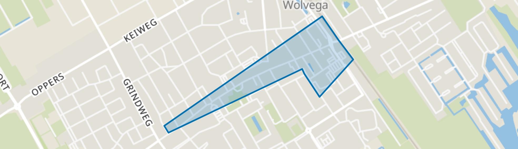 Wolvega-Centrum, Wolvega map