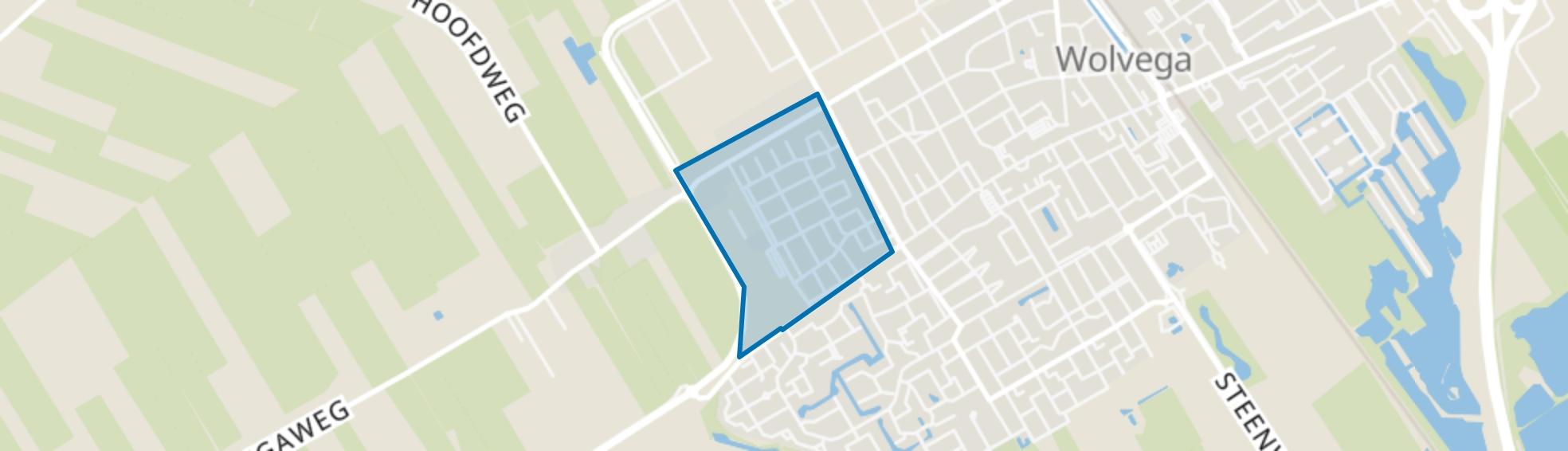 Wolvega-De Meulepolle, Wolvega map