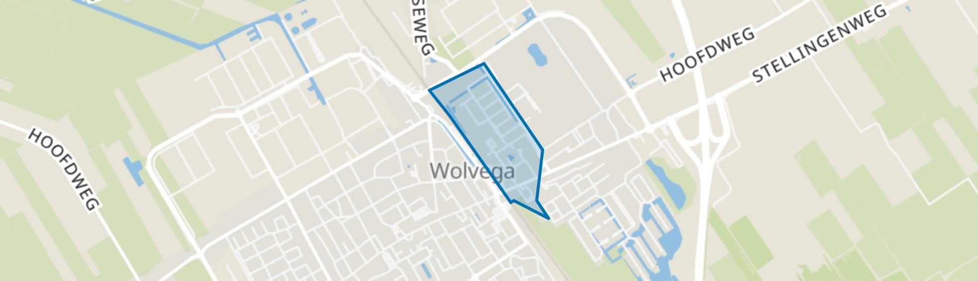 Wolvega-De Scheene, Wolvega map