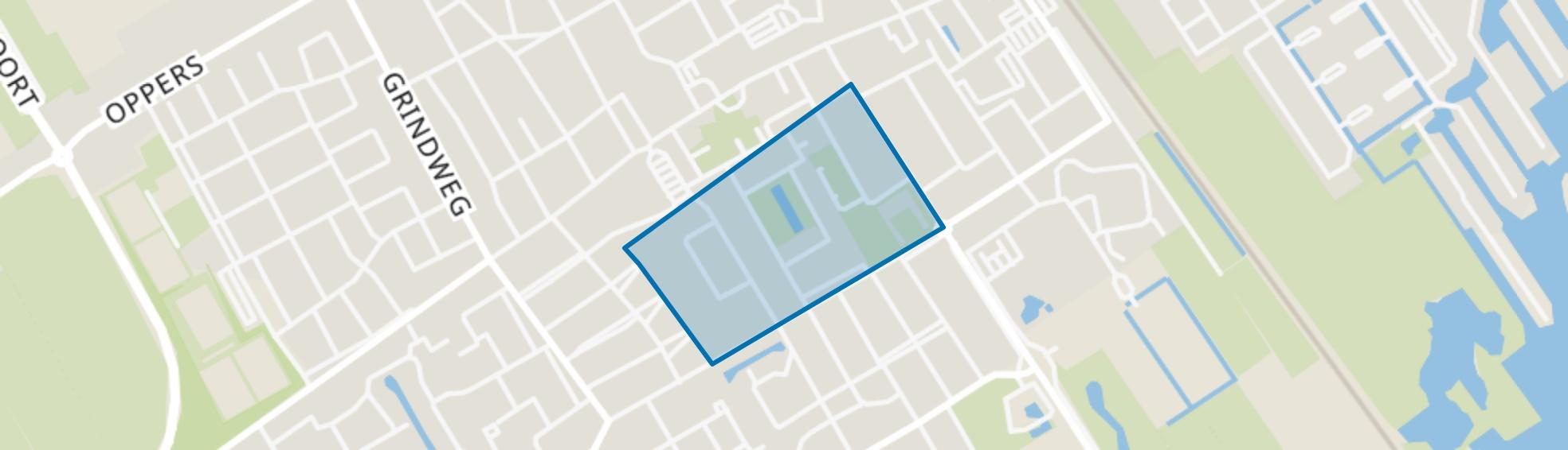Wolvega-Lindenoord, Wolvega map