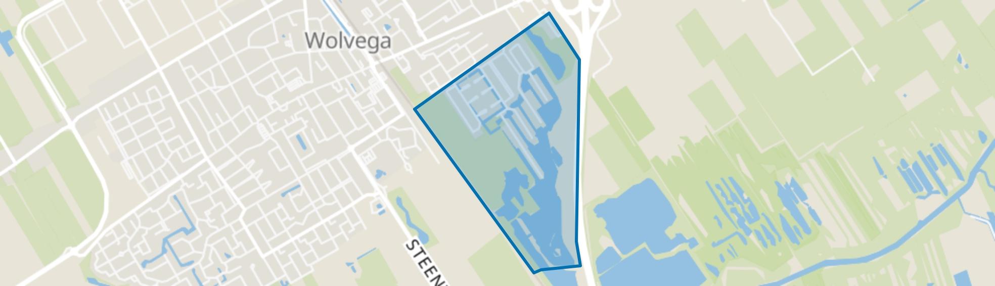 Wolvega-Lindewijk, Wolvega map