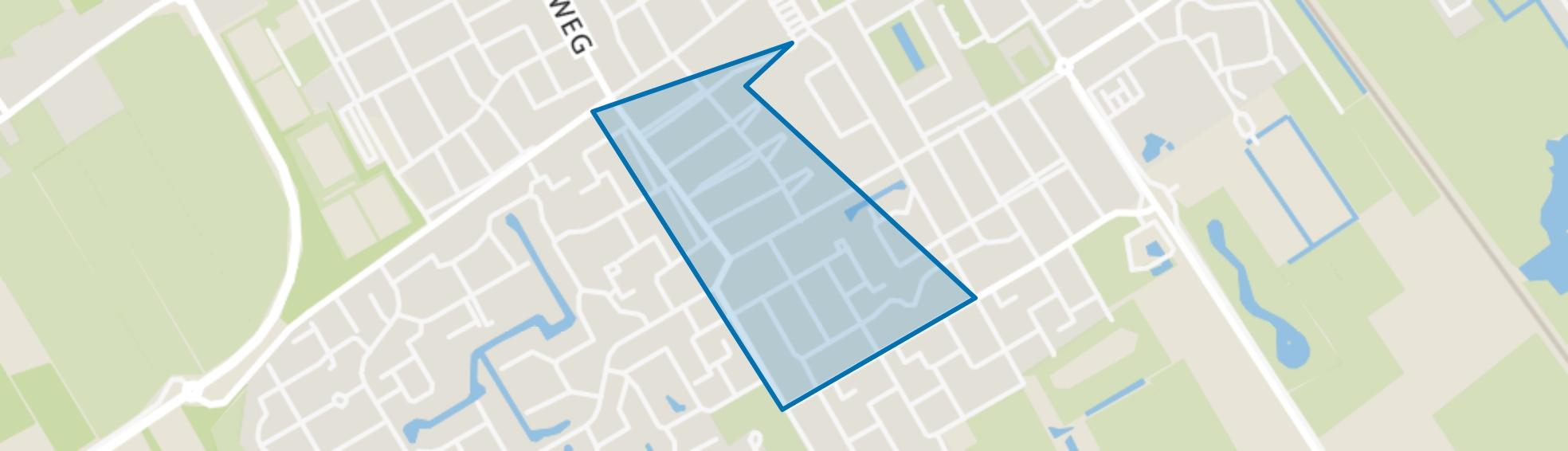 Wolvega-Oranjebuurt, Wolvega map