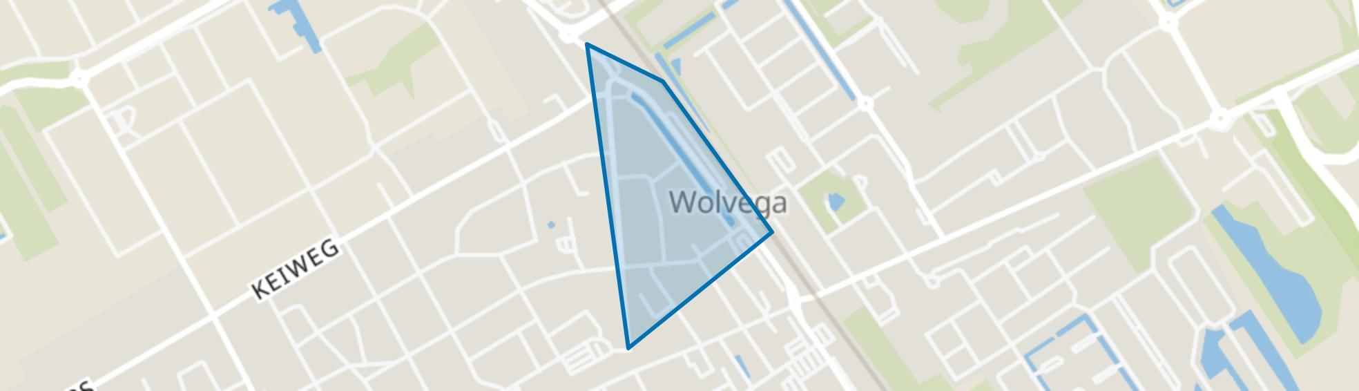 Wolvega-Stationsbuurt, Wolvega map