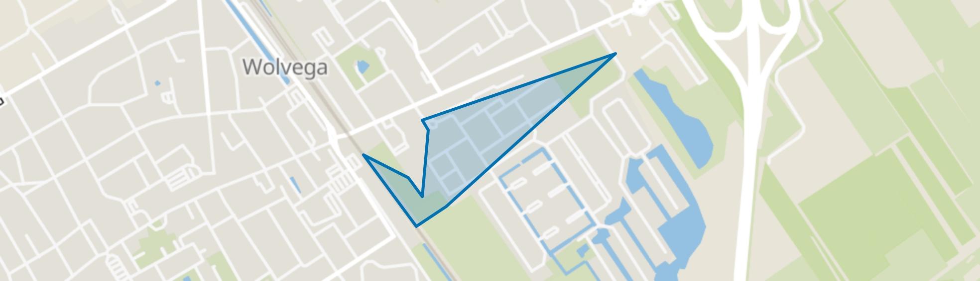 Wolvega-Vlinderwijk, Wolvega map