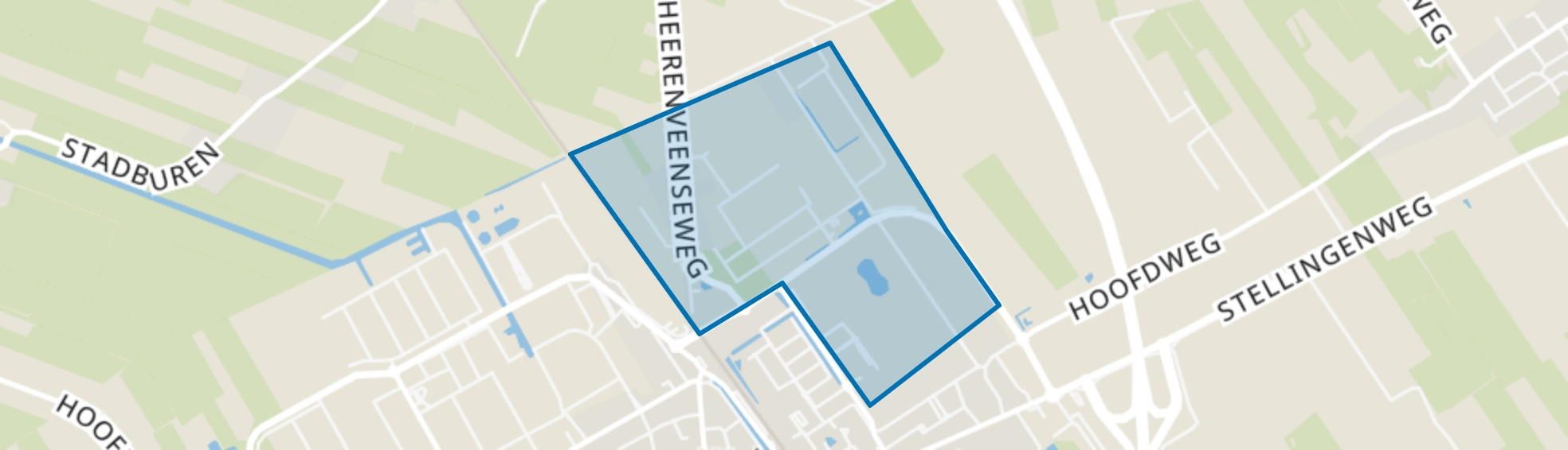 Wolvega-Wolvega Noord, Wolvega map