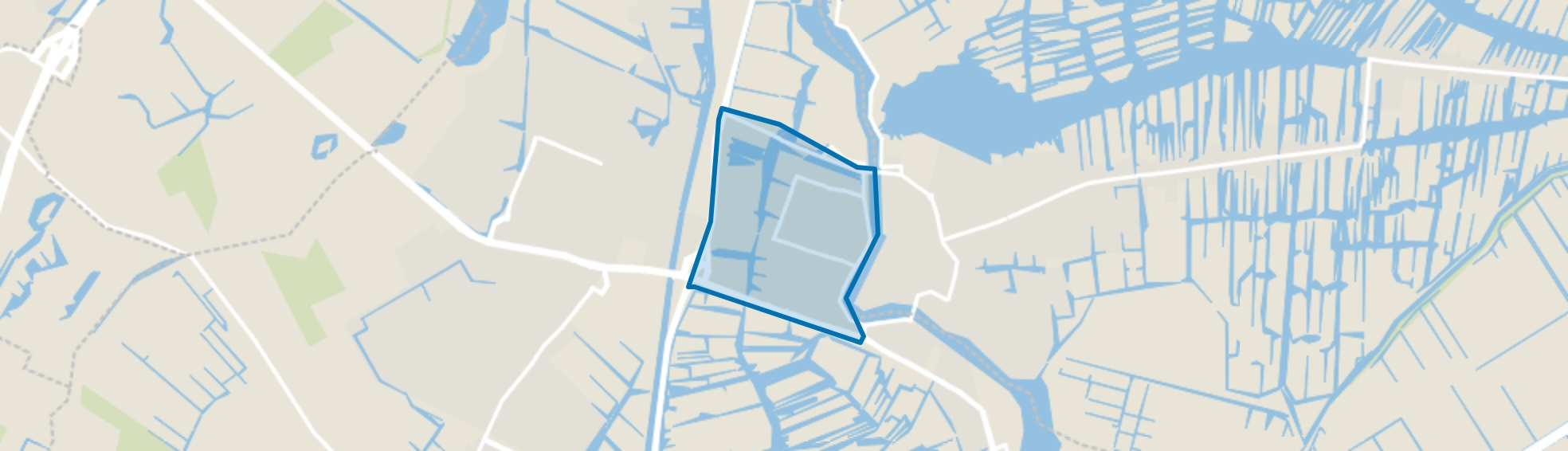 Wormerveer Noord, Wormerveer map