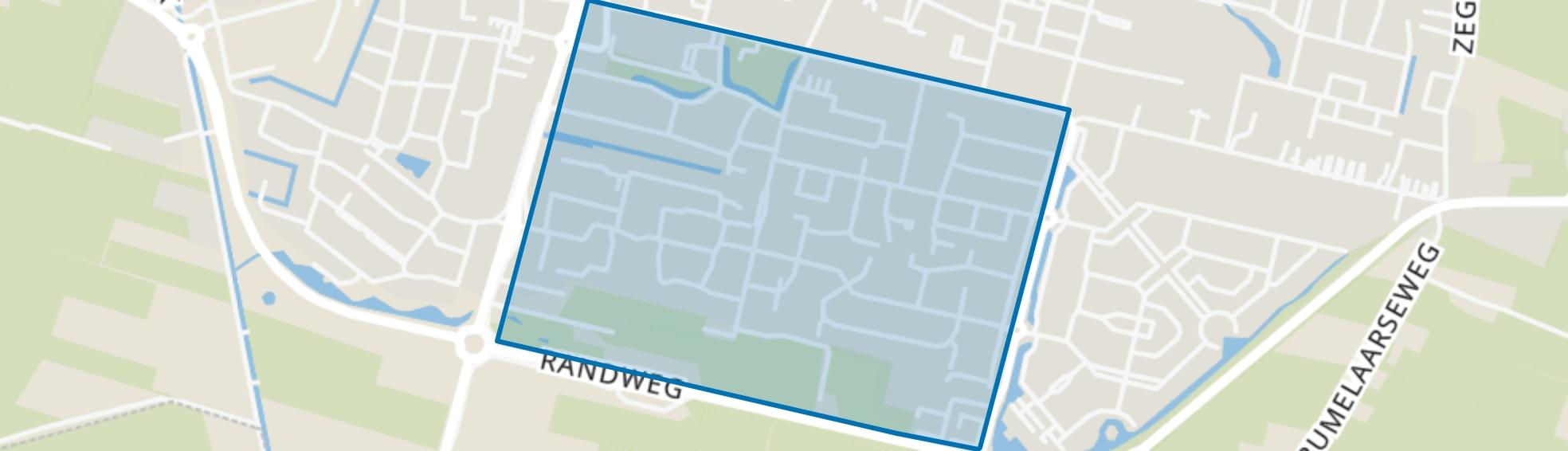 Laanzicht, Woudenberg map