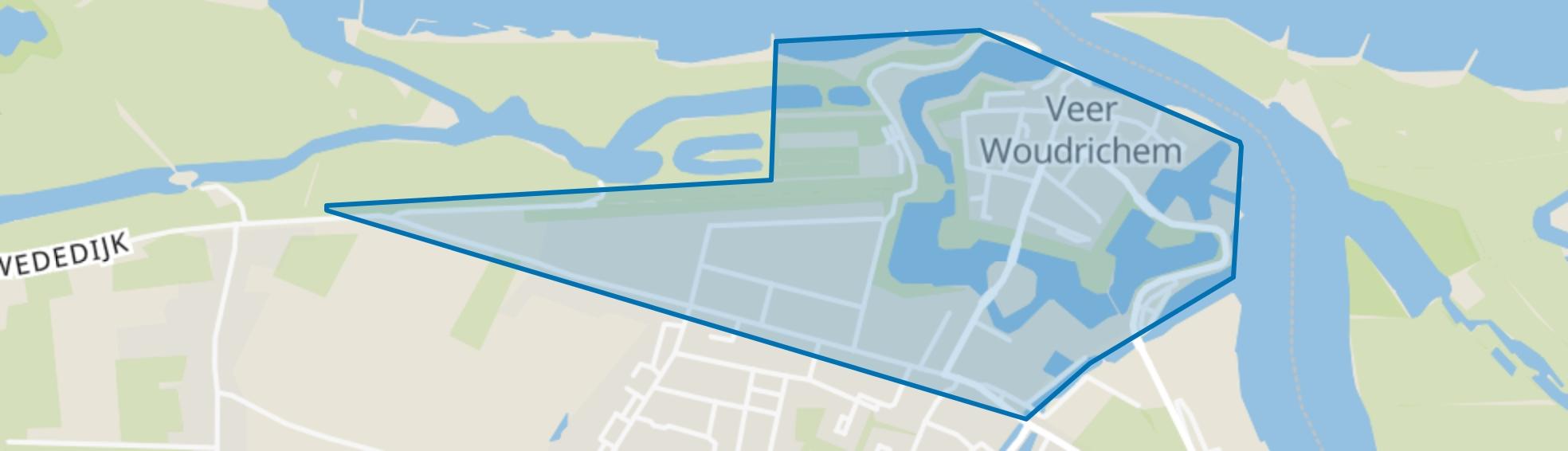 Woudrichem noord, Woudrichem map