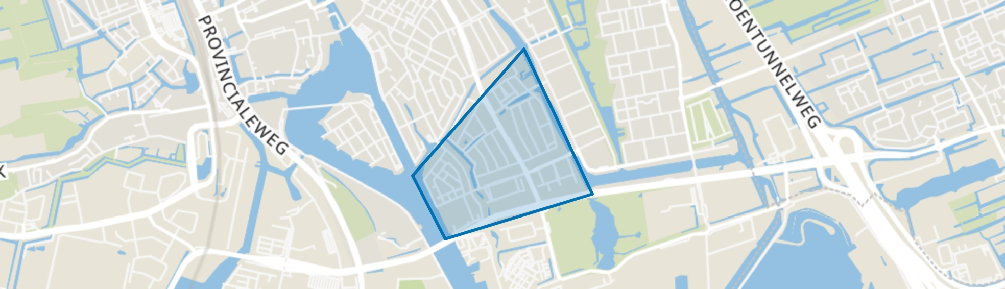 Bomenbuurt, Zaandam map