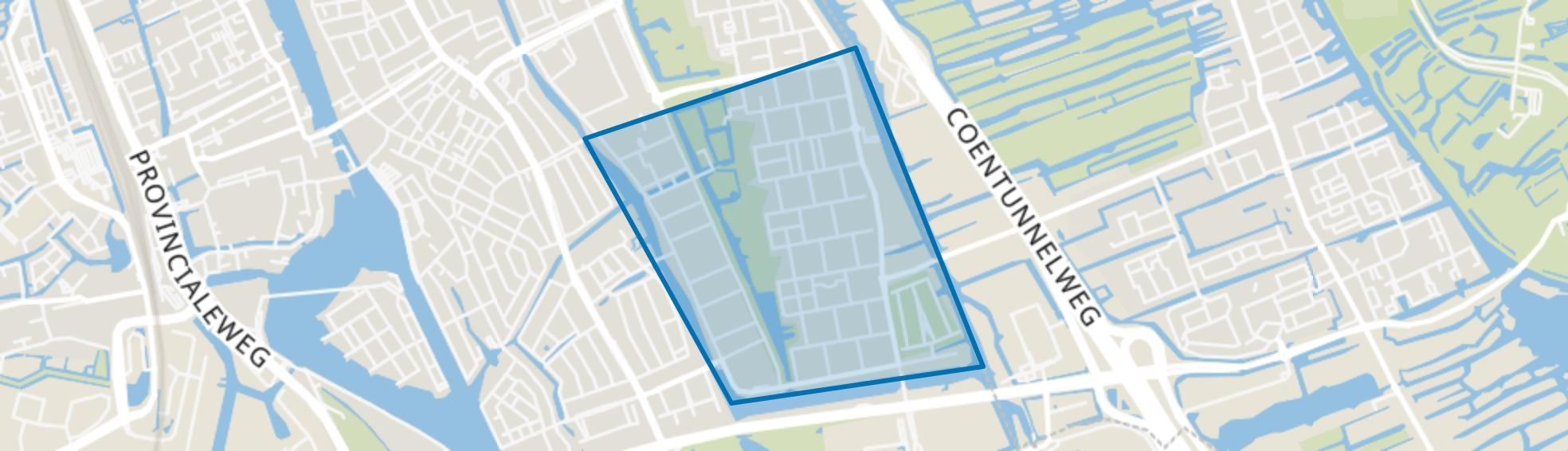 Poelenburg, Zaandam map