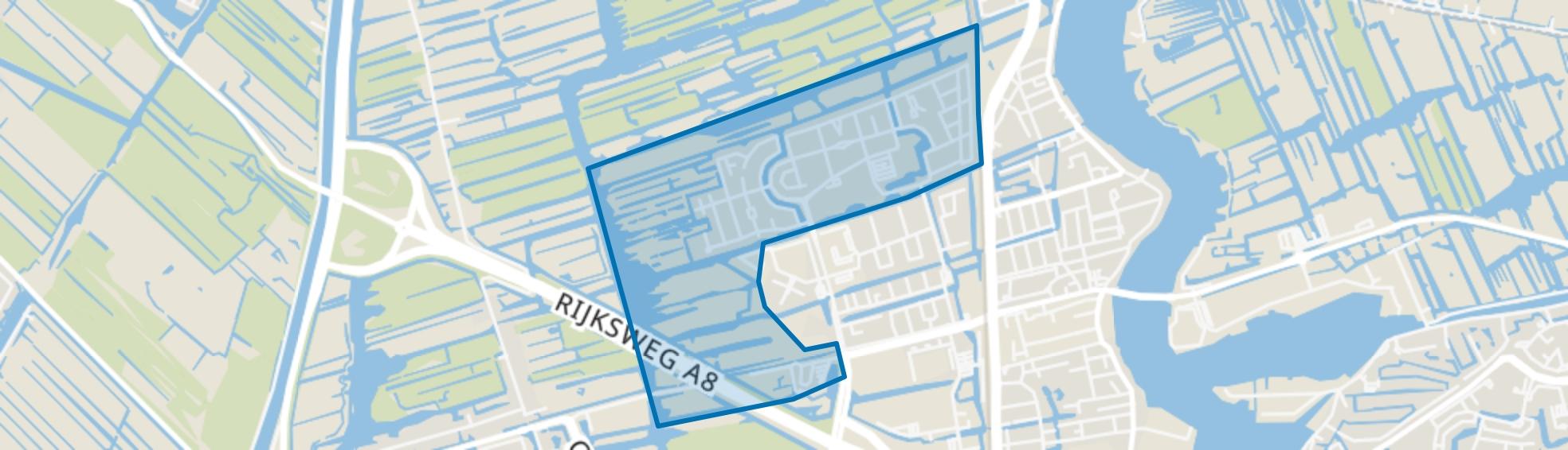 Rooswijk Noord, Zaandijk map