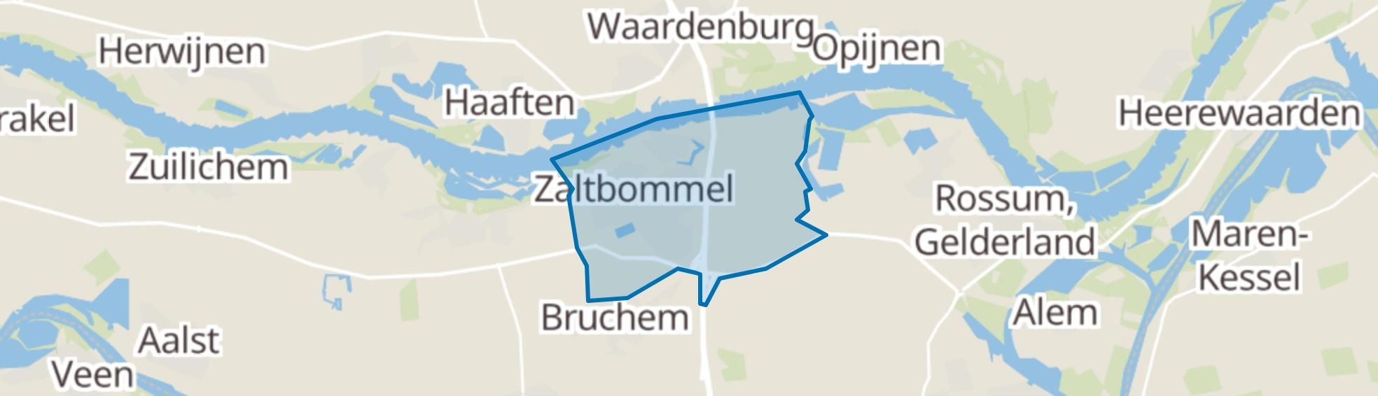 Zaltbommel map
