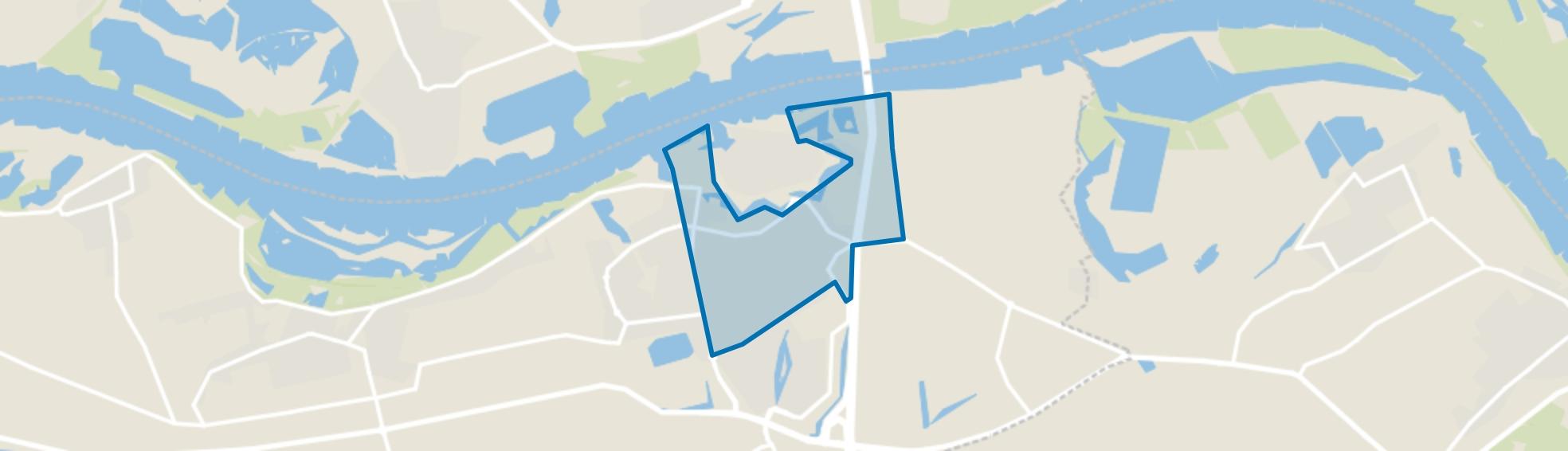 Zaltbommel Vergt en omgeving, Zaltbommel map