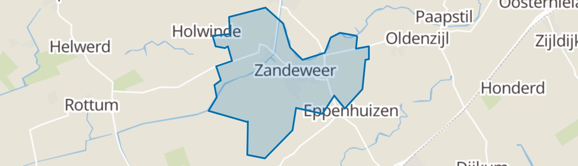 Zandeweer map