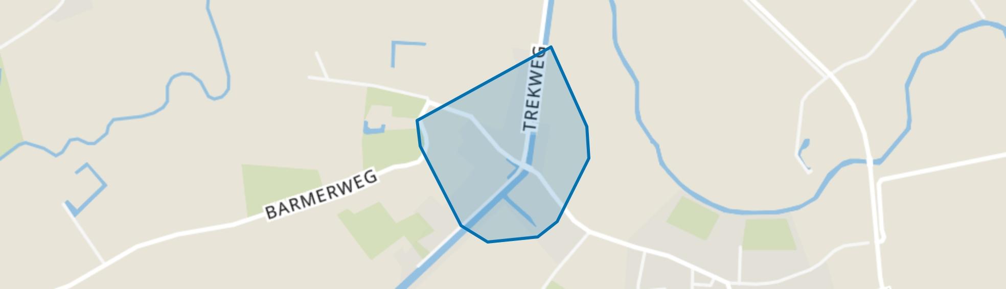 Doodstil, Zandeweer map