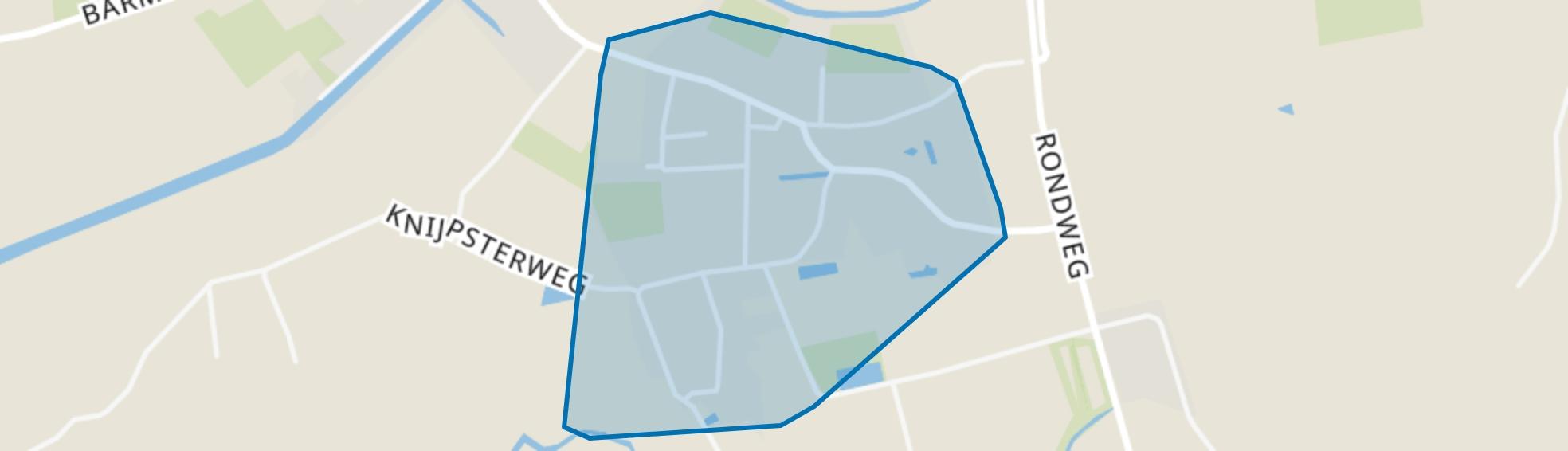 Zandeweer, Zandeweer map