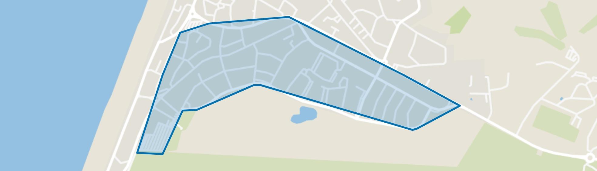 Brederode- Gerkestraat e.o., Zandvoort map