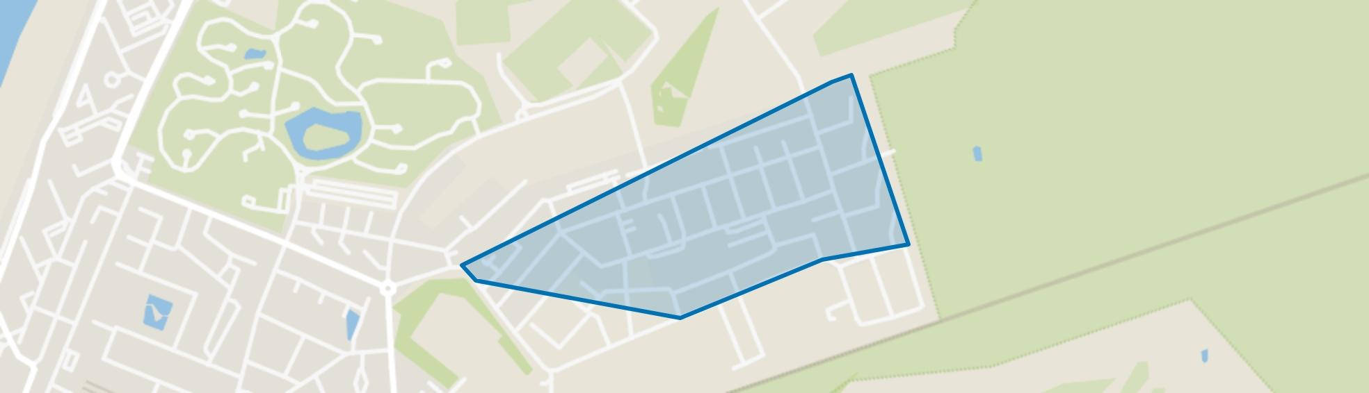 Nieuw Noord - wonen, Zandvoort map